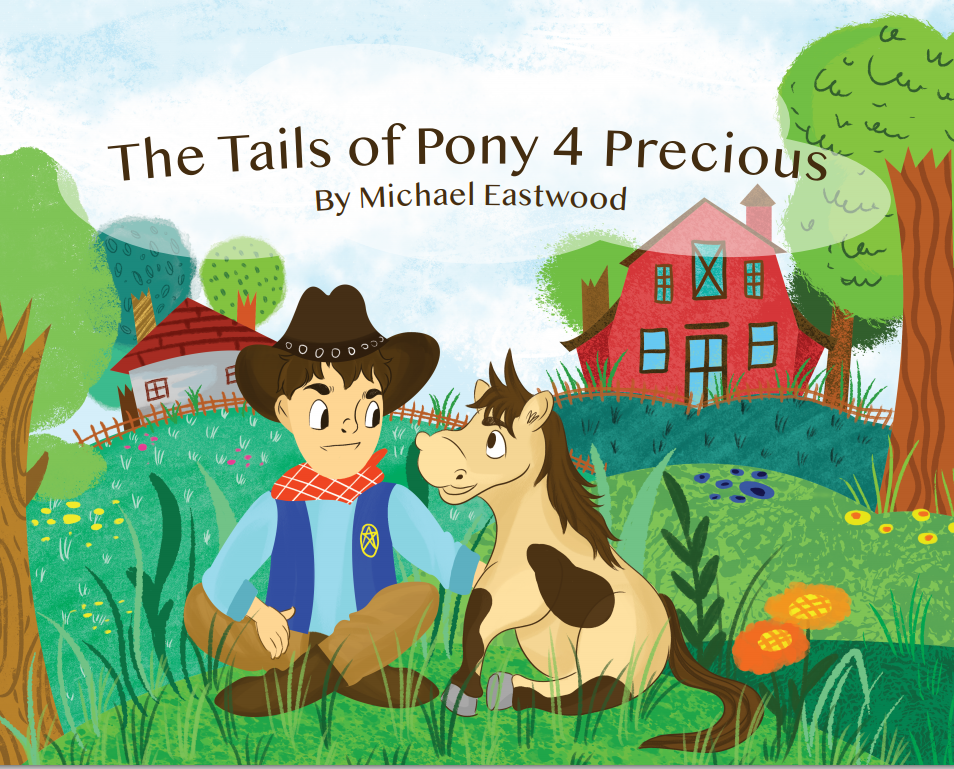 The Tails Of Pony 4 Precious Book Is Launched Today On Amazon