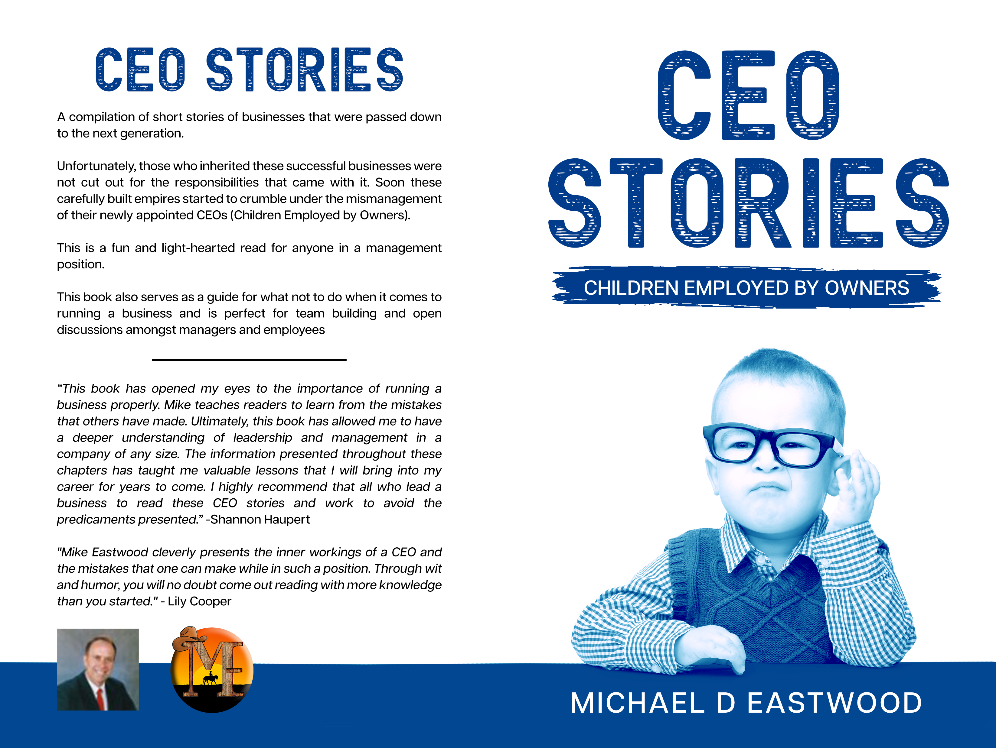 CEO-Stories Book Now On Amazon